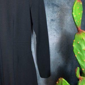 MM Lafleur Dresses - M.M. Lafleur The Ellis Dress Black Ponte Size 4